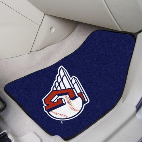 Cleveland Indians MLB 2-Piece Carpet Car Mats