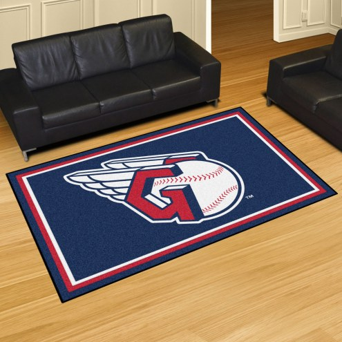 Cleveland Indians MLB 5' x 8' Area Rug