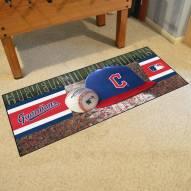 Cleveland Indians MLB Baseball Runner Rug