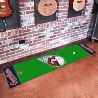 Cleveland Indians MLB Golf Putting Green Mat