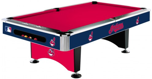 Cleveland Indians MLB Pool Table