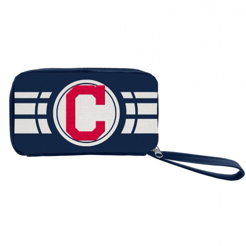 Cleveland Indians Ripple Zip Wallet