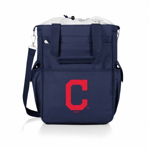 Cleveland Indians Navy Activo Cooler Tote