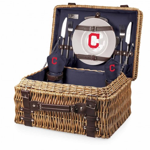 Cleveland Indians Navy Champion Picnic Basket