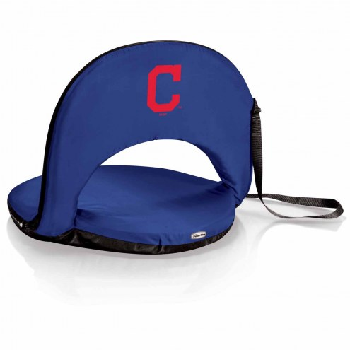 Cleveland Indians Navy Oniva Beach Chair