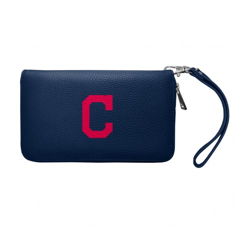 Cleveland Indians Pebble Organizer Wallet