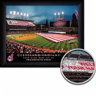 Cleveland Indians 11 x 14 Personalized Framed Stadium Print