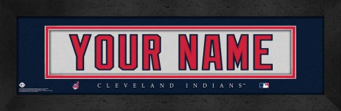 Cleveland Indians Personalized Stitched Jersey Print