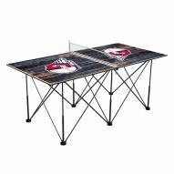Cleveland Indians Pop Up 6' Ping Pong Table