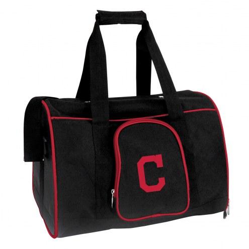 Cleveland Indians Premium Pet Carrier Bag