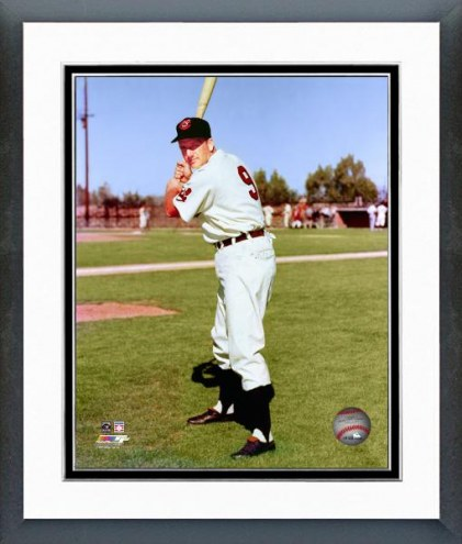 Cleveland Indians Ralph Kiner Posed Framed Photo