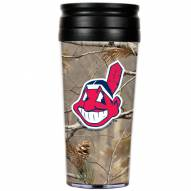 Cleveland Indians RealTree Camo Coffee Mug Tumbler