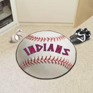 Cleveland Indians Baseball Rug