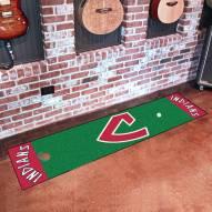 Cleveland Indians Golf Putting Green Mat