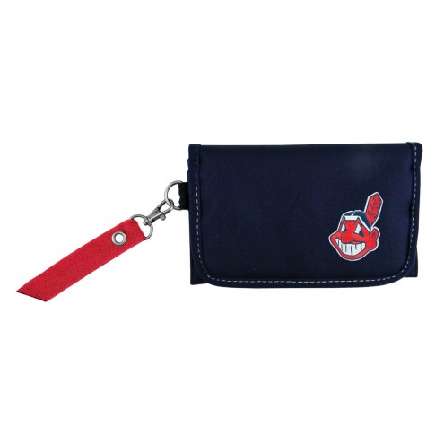 Cleveland Indians Ribbon Organizer Wallet