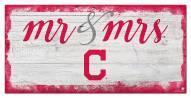 Cleveland Indians Script Mr. & Mrs. Sign