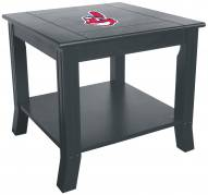 Cleveland Indians Side Table