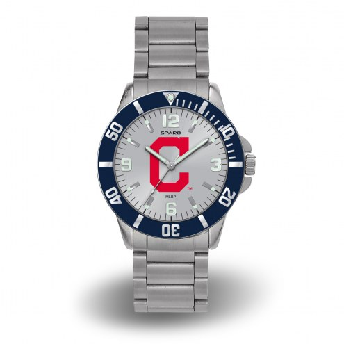 Cleveland Indians Sparo Men's Key Watch