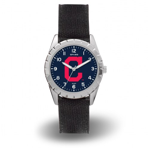 Cleveland Indians Sparo Men's Nickel Watch