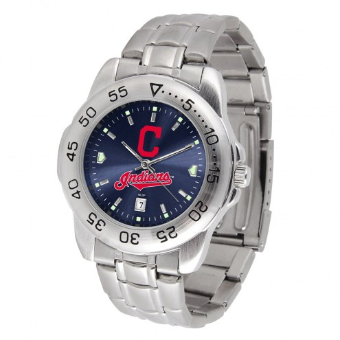 Cleveland Indians Sport Steel AnoChrome Men's Watch