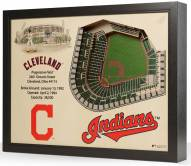 Cleveland Indians 25-Layer StadiumViews 3D Wall Art