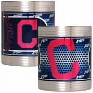Cleveland Indians Stainless Steel Hi-Def Coozie Set