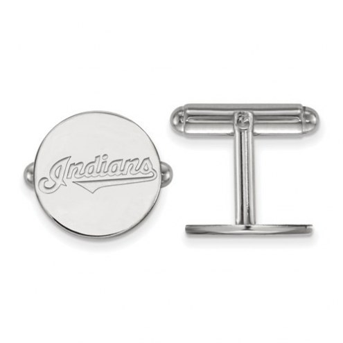 Cleveland Indians Sterling Silver Cuff Links