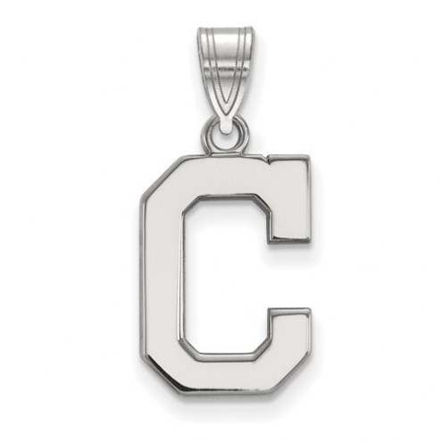Cleveland Indians Sterling Silver Medium Pendant