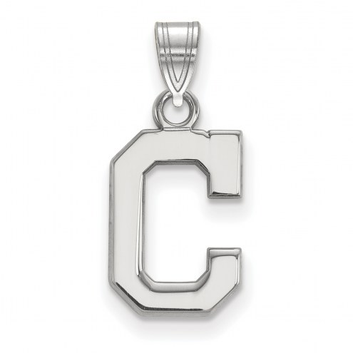 Cleveland Indians Sterling Silver Small Pendant