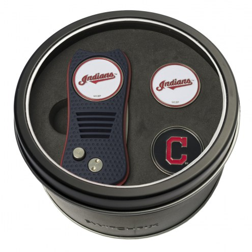 Cleveland Indians Switchfix Golf Divot Tool & Ball Markers