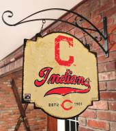 Cleveland Indians Tavern Sign
