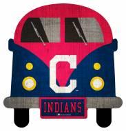 Cleveland Indians Team Bus Sign