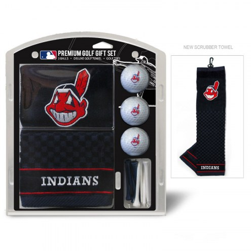 Cleveland Indians Golf Gift Set