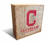 Cleveland Indians Team Logo Block
