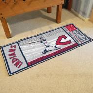 Cleveland Indians Ticket Runner Rug