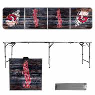 Cleveland Indians Victory Folding Tailgate Table