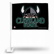 Cleveland State Vikings Car Flag