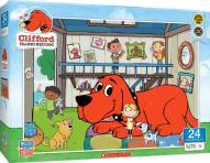 Clifford Doghouse 24 Piece Puzzle