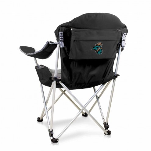 Coastal Carolina Chanticleers Black Reclining Camp Chair