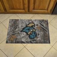 Coastal Carolina Chanticleers Camo Scraper Door Mat