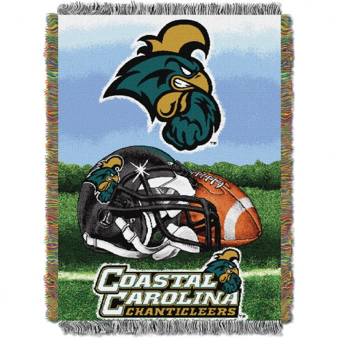 Coastal Carolina Chanticleers Home Field Advantage Throw Blanket