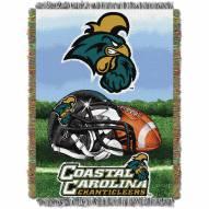 Coastal Carolina Chanticleers Home Field Advantage Throw Blanket