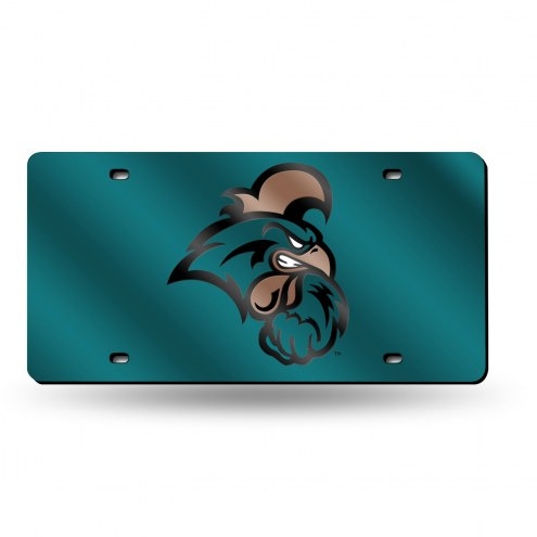 Coastal Carolina Chanticleers Laser Cut License Plate