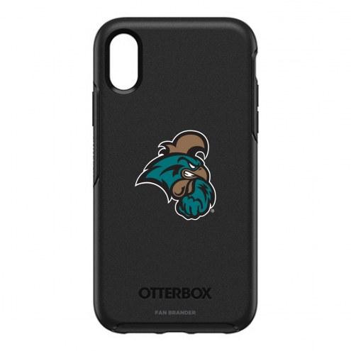 Coastal Carolina Chanticleers OtterBox iPhone XR Symmetry Black Case