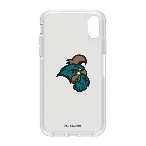 Coastal Carolina Chanticleers OtterBox iPhone XR Symmetry Clear Case