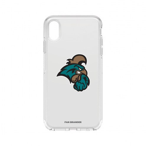 Coastal Carolina Chanticleers OtterBox iPhone XS Max Symmetry Clear Case