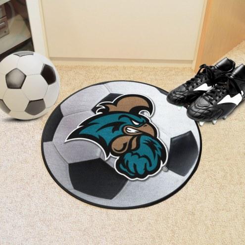 Coastal Carolina Chanticleers Soccer Ball Mat