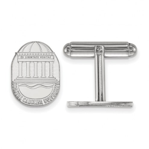 Coastal Carolina Chanticleers Sterling Silver Cuff Links