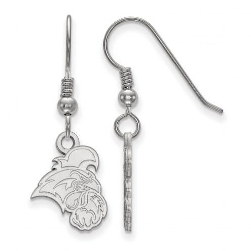 Coastal Carolina Chanticleers Sterling Silver Small Dangle Earrings
