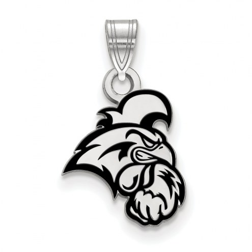Coastal Carolina Chanticleers Sterling Silver Small Enamel Pendant